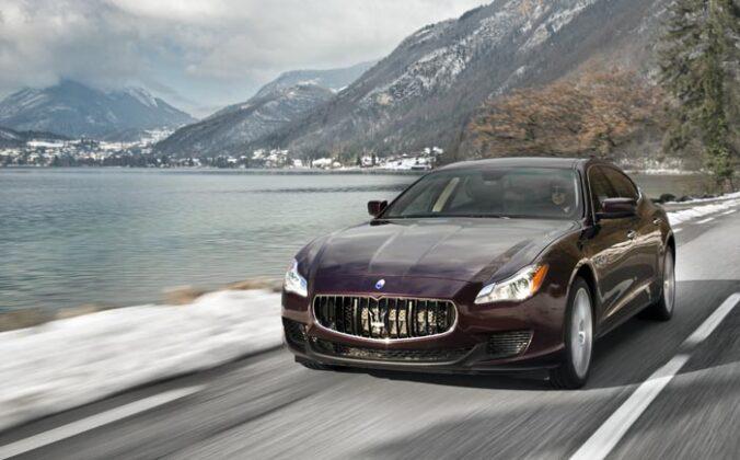 Maserati Quattroporte 2013 12