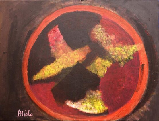 Opere Milly Miola 2017 Eclissi Solare