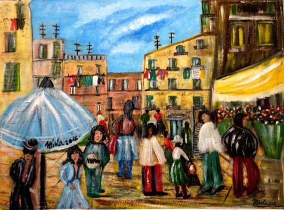 Opere Milly Miola 2017 Napoli Quartieri Spagnoli