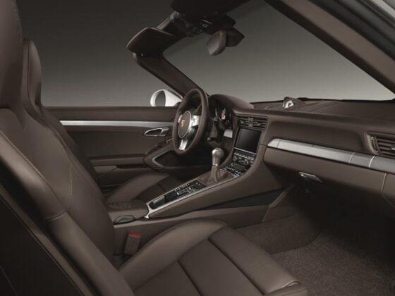 Porsche Exclusive: 911 Carrera Mit Interieur Paket Aluminium Gebürstet