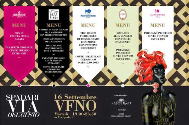 Vogue Fashion Night 2014 Percorso Gastronomic#78e11d