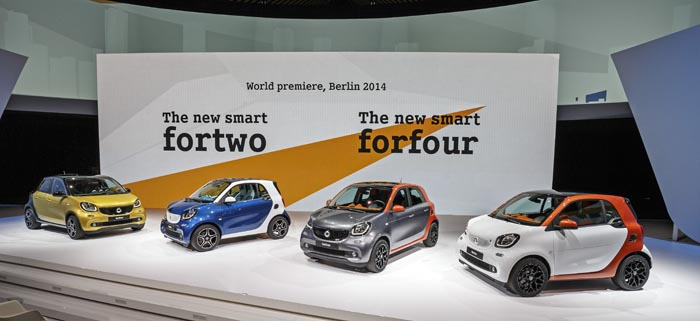 The New Smart Fortwo And Forfour, World Premiere, Berlin 2014 Der Neue Smart Fortwo Und Forfour, Weltpremiere, Berlin 2014
