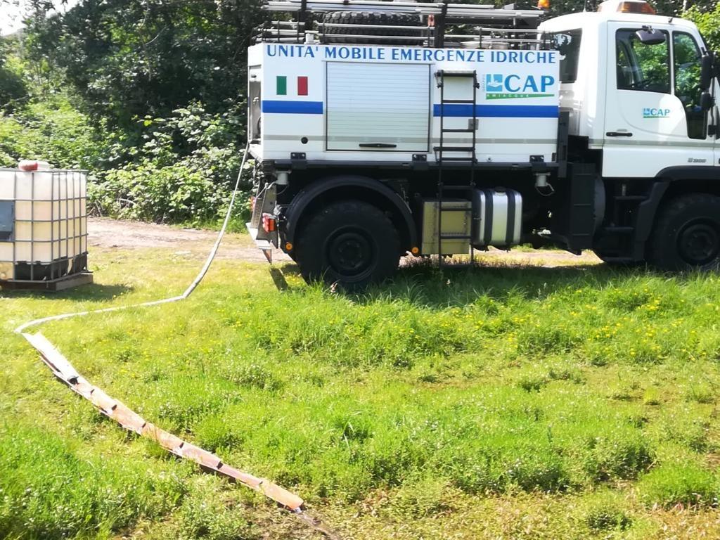 CAP cisterna mobile unita emergenza
