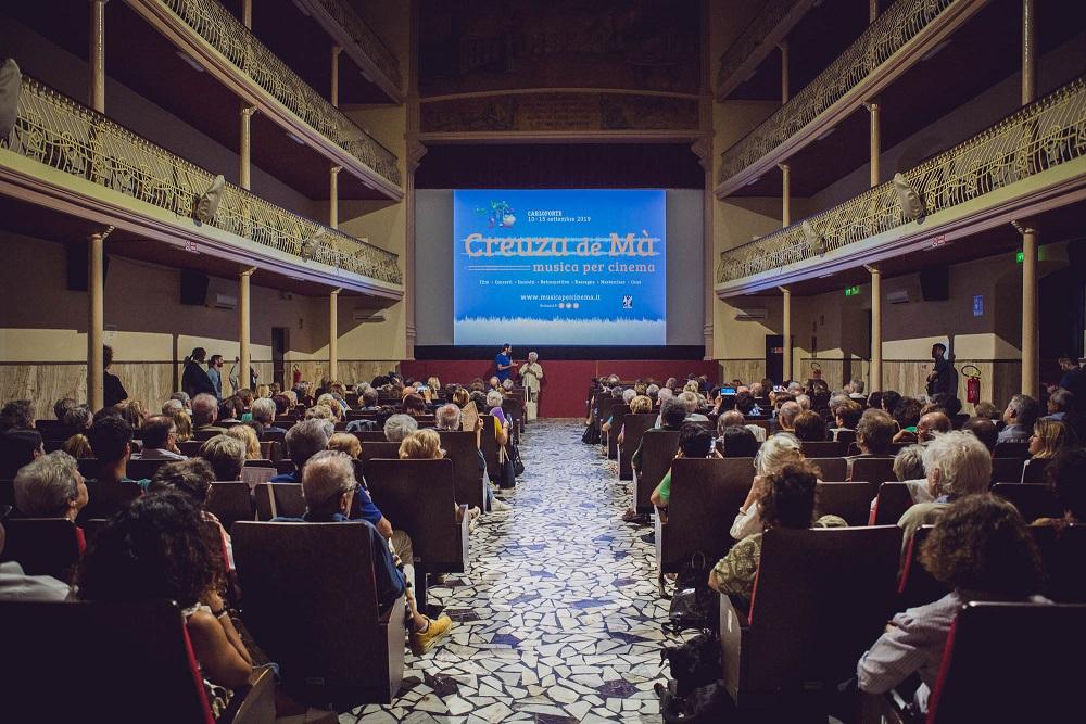 Creuza de Mà 2019 - Pubblico al cinema Cavallera foto Sara Deidda 2m