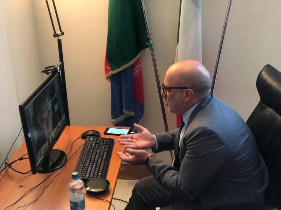 Gianni Berrino assessore regione Liguira al Turismo