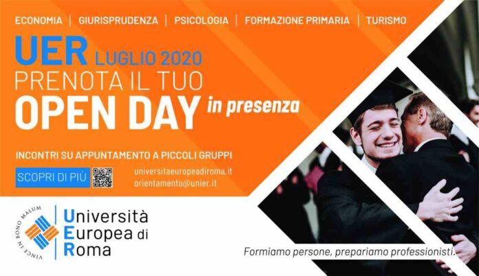 Locandina il Tuo Open Day Università Europea di Roma-compressed