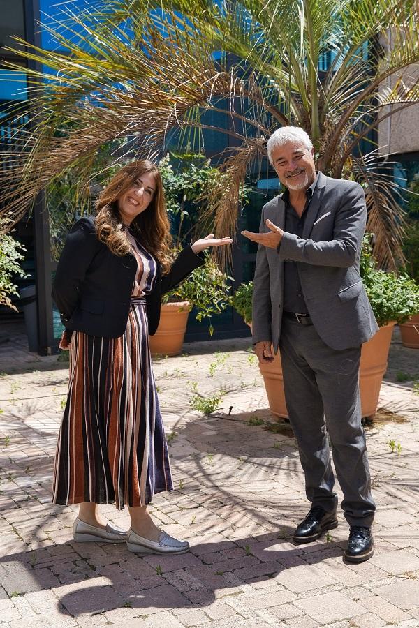 Paola Tassone e Pino Insegno