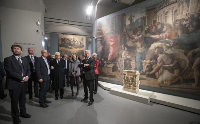 Raffello scuderie del quirinale Dario Franceschini Minisro Beni Culturali