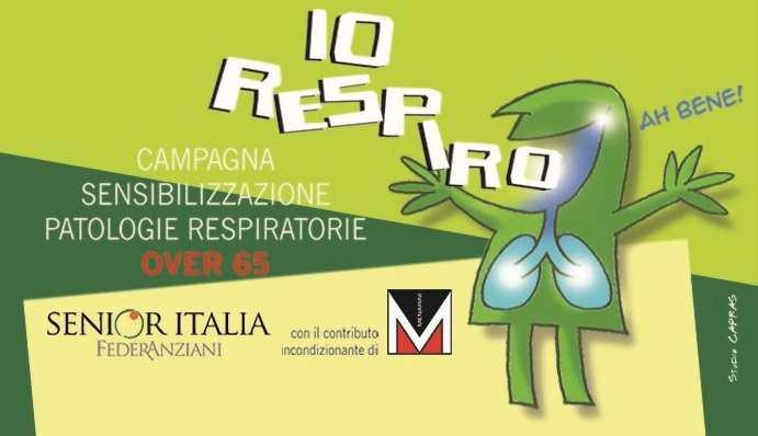 indagine IO RESPIRO senior italia