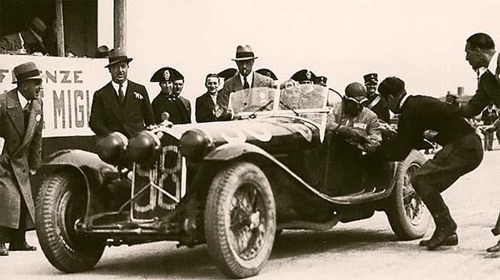 Z1 1933 1000miglia Nuvolari Compagnoni