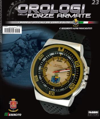 23a Uscita 4 Reggimento Alpini Paracadutisti