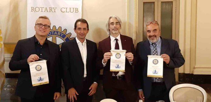 Klaus Bellavitis, Giacinto Siciliano, Cesare Quaranta e Rotary Club Milano Arco della Pace