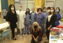 Dott.marco Con Yvonne Andreae Viviana E Equipe Medica