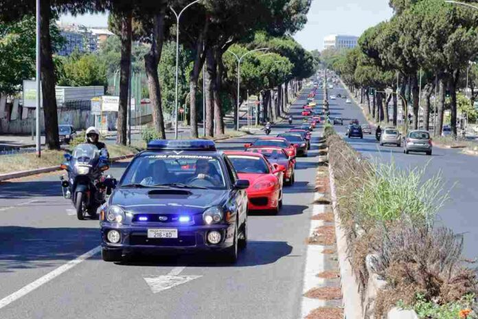 Raduno Di Ferrari A Roma 3