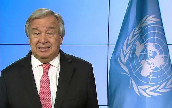 Segretario Generale Dellonu Antonio Guterres