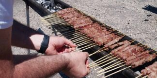 Arrosticini In Cottura