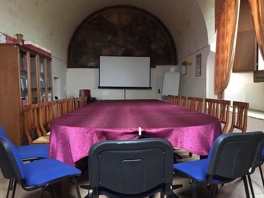 Refettorio Convento dei Cappuccini a Mesagne Monastero Terzo Millennio ISBEM