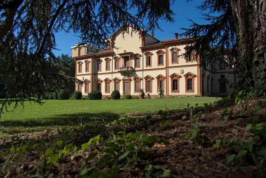 Cinisello, Villa Ghirlanda Silva Facciata Compressed