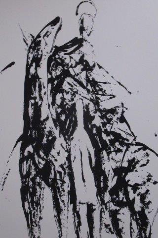 Franco Miozzo, San Martino, Partic., Serigrafia Cm 70x50, Anni '90