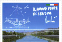 Francvobollo Ponte Genova
