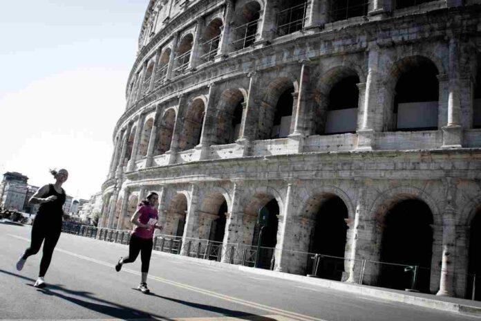 Foto Run Colosseo