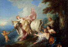 Europa E Giove Jean Francois De Troy, Il Ratto D'europa, 1716