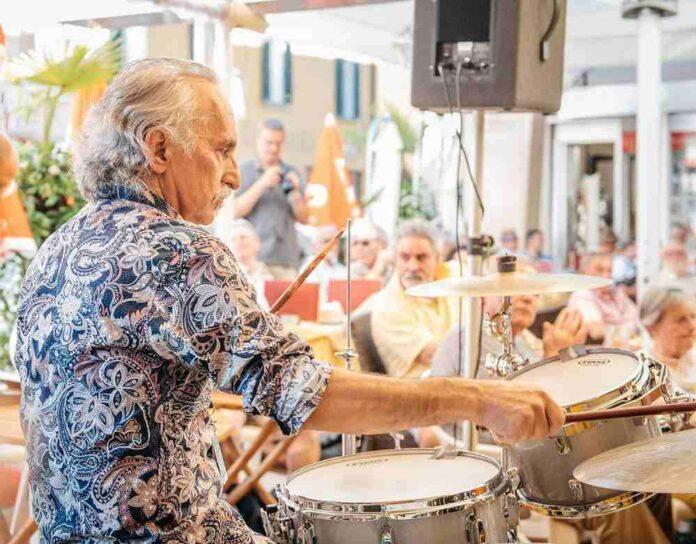 Il batterista Alberto Botta