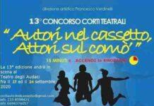 Locandina Corti Teatrali Al Teatro Degli Audaci