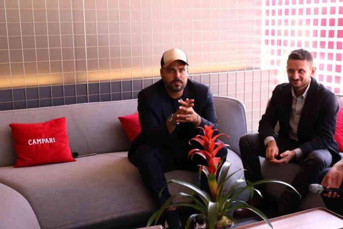 Marco D'Amore e Luca Nemolato ospiti di Campari al Festival di Venezia 2020ival Di Venezia 2020