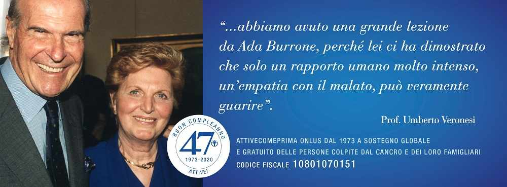 Umberto Veronesi e Ada Burrone