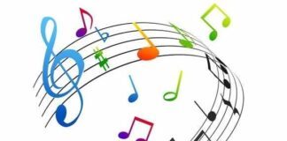 note musicali - pentagramma la musica