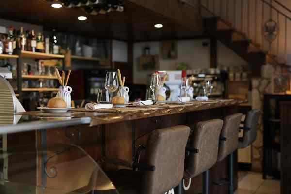 All'Origine bancone chef table