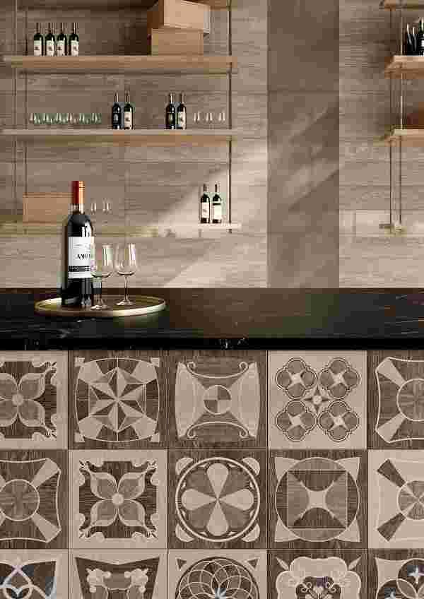 Caesar Meet Allure Hazel Squares bar particolare 2
