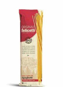 Pastificio Felicetti nuovo packaging spaghetti 1000px