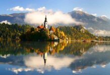 Slovenia in autunno - Bled - Il Castello, il Lago