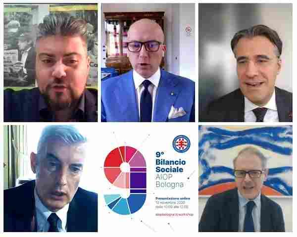 Collage relatori AIOP BO