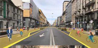 2020 - Covid Piste ciclabili e monopattini il caos a Milano
