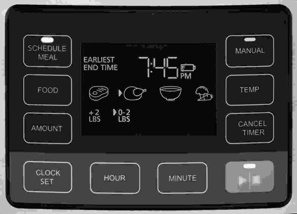 Crock Pot Time Select Control Panel