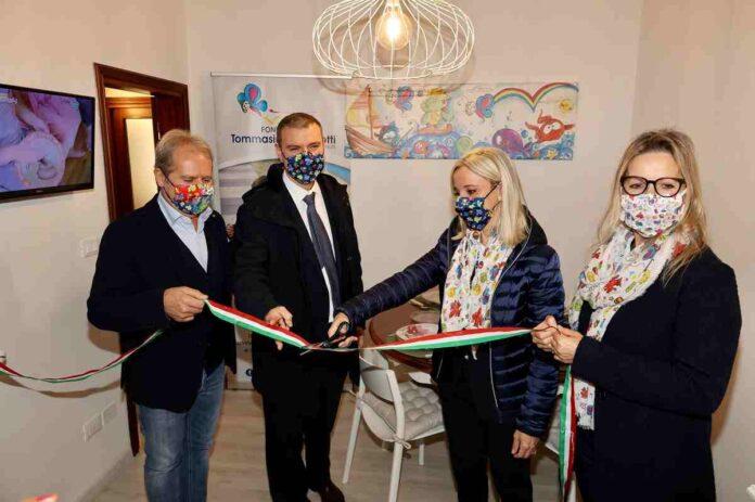 Menarini Fondazione Tommasino Bacciotti donazione casa Paolo Bacciotti Alberto Giovanni e Lucia Aleotti