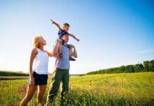 Naturopatia famiglia nella natura