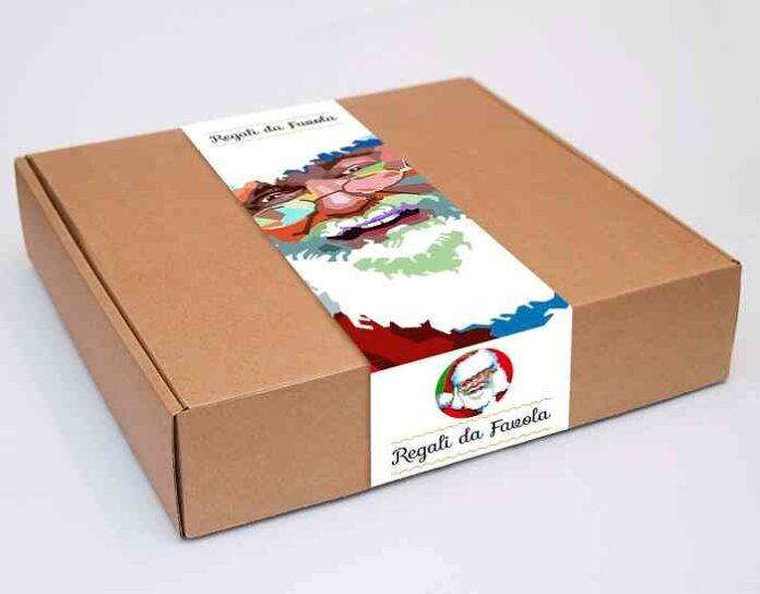 scatola con fascia
