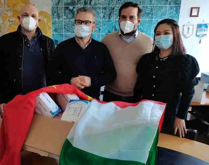 Donazione al Comun e di Genova