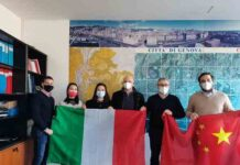 Donazione cal Comune di Genova