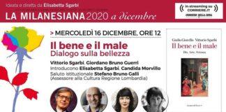 La Milanesiana 16 dicembre 2020 Vittorio Sgarbi Giordano Bruno Guerri