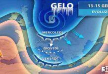 13 15 GENNAIO METEO ITALIA EVOLUZIONE