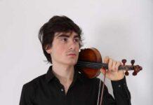 Il giovane violinista Leonardo Moretti