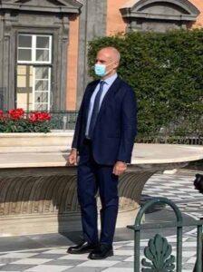 Napoli Palazzo Reale Il direttore Mario Epifani