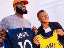 Nike Lebron James e Kylian Mbappè