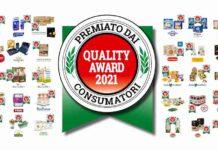 Prodotti QUALITY AWARD 2021