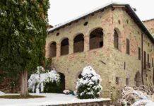 Rocca Valle Castrignano neve 2021